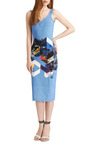 Maxie Printed Jersey Dress by Preen by Thornton Bregazzi Now Available on Moda Operandi