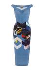 Maxie Printed Jersey Dress by Preen by Thornton Bregazzi Now Available on Moda Operandi