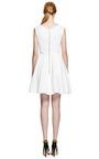 Flora Stretch-Crepe V-Neck Dress by Preen by Thornton Bregazzi Now Available on Moda Operandi