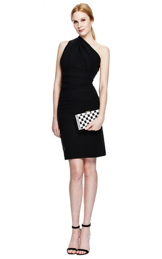Plaza Stretch-Crepe Dress by Preen by Thornton Bregazzi Now Available on Moda Operandi