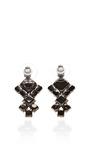 Neopolitano Geometric Drop Earrings by Tom Binns for Preorder on Moda Operandi