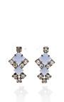 Tom Binns - Neopolitano Geometric Drop Earrings