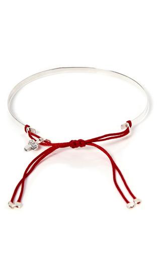 Silver Plaque Love Bracelet by Gag & Lou Now Available on Moda Operandi