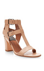 Diane T-Bar Leather Sandals by Laurence Dacade Now Available on Moda Operandi