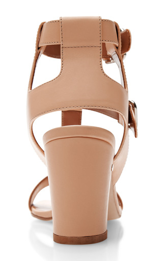 Diane T Bar Leather Sandals by LAURENCE DACADE Now Available on Moda Operandi