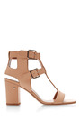 Diane T-Bar Leather Sandals by Laurence Dacade for Preorder on Moda Operandi