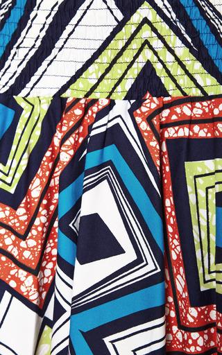Cicoria Printed Cotton Maxi Skirt by Stella Jean Now Available on Moda Operandi