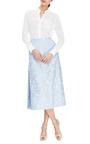 Lidya Floral-Jacquard Midi Skirt by Vivetta Now Available on Moda Operandi
