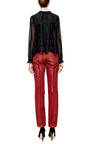 Lace-Trimmed Cotton-Voile Blouse by Meadham Kirchhoff for Preorder on Moda Operandi
