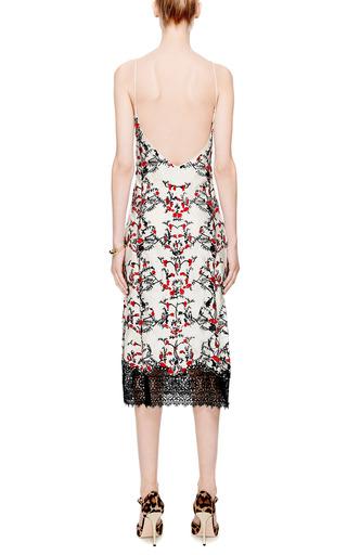 Embroidered Long Silk Slip Dress by Meadham Kirchhoff for Preorder on Moda Operandi