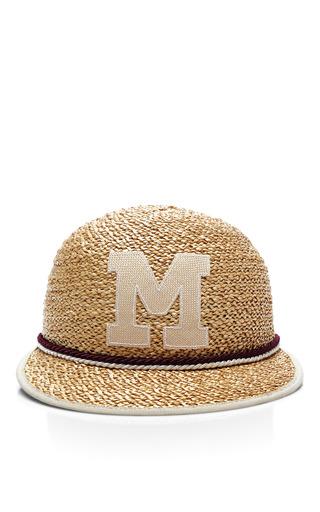 Muhlbauer - Ali Monogram Straw Cap