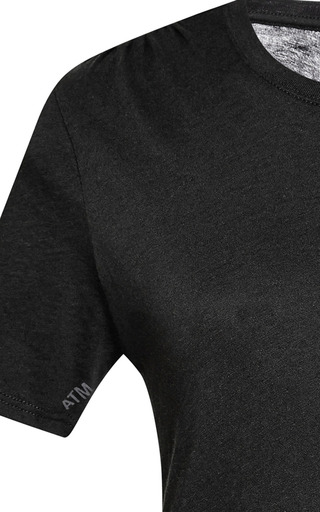 Crew Neck Cotton T-Shirt by ATM Now Available on Moda Operandi