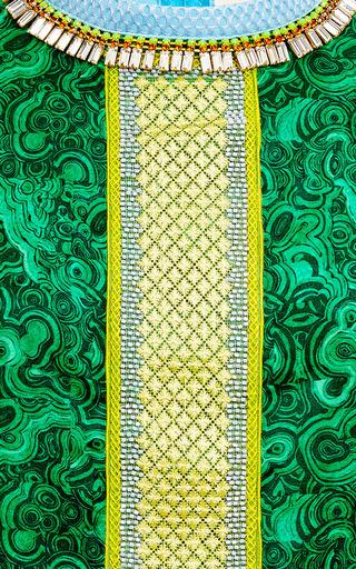 Jade Embellished T-Shirt by Betina Now Available on Moda Operandi
