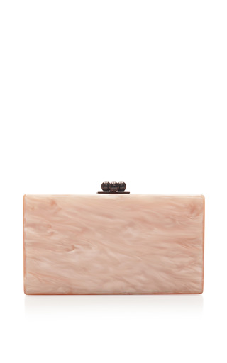 M'O Exclusive: Watermelon Acrylic Clutch by Edie Parker Now Available on Moda Operandi