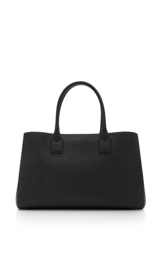 The Big Big Apple Grained-Leather Tote by Marc Jacobs Now Available on Moda Operandi