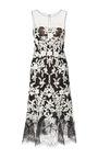 Lace-Trimmed Embellished Tulle Dress by Oscar de la Renta Now Available on Moda Operandi