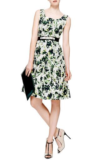 Sleeveless Full Pleated Dress by Oscar de la Renta Now Available on Moda Operandi