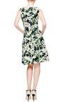 Oscar de la Renta - Sleeveless Full Pleated Dress