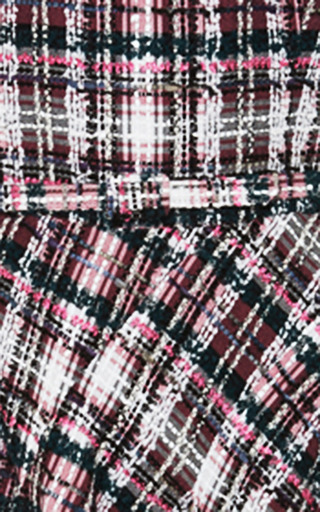 Asymmetric Hem Tweed Dress by OSCAR DE LA RENTA Now Available on Moda Operandi