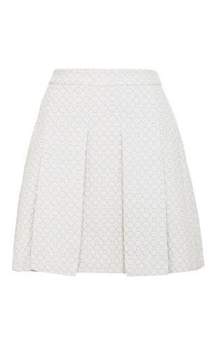 Box-Pleat Quilted Mini Skirt by Derek Lam 10 Crosby Now Available on Moda Operandi