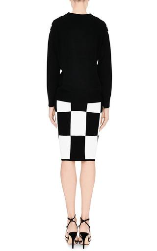 Checkerboard Knit Skirt by Derek Lam 10 Crosby Now Available on Moda Operandi