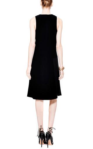 Side-Pleated Crepe Dress by Derek Lam 10 Crosby Now Available on Moda Operandi