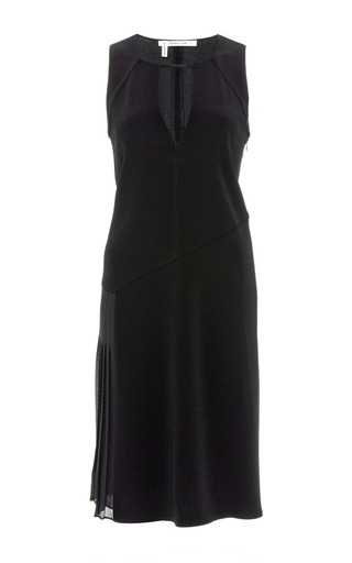Side-Pleated Crepe Dress by Derek Lam 10 Crosby Now Available on Moda Operandi