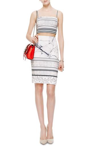 Printed Neoprene Skirt by Clover Canyon Now Available on Moda Operandi