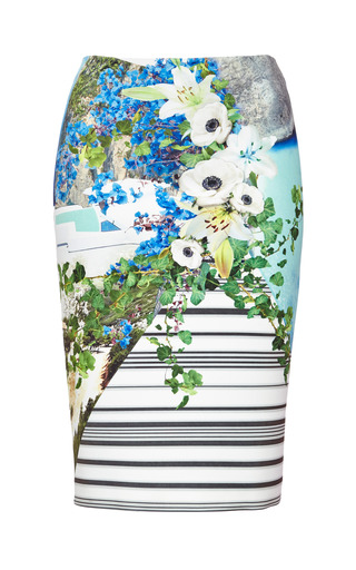 Clover Canyon - Printed Neoprene Skirt