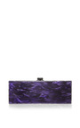 Flavia Solar System Glitter Acrylic Clutch by Edie Parker Now Available on Moda Operandi