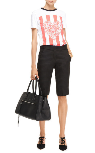 Juno Printed Cotton-Jersey T-Shirt by Mother of Pearl Now Available on Moda Operandi