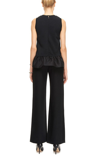 Mother of Pearl - Payton Light Wool Crepe Wide Trousers