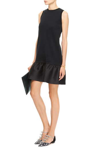 Audra Ruffled-Hem Dress by Mother of Pearl Now Available on Moda Operandi