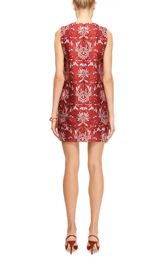 Franklin Printed Cotton-Blend Shift Dress by Mother of Pearl Now Available on Moda Operandi