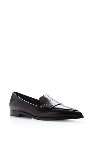 Nicholas Kirkwood - Two-Tone Polished Leather Penny Loafers