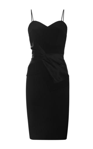 Prabal Gurung - Silk Bow-Waist Sheath Dress