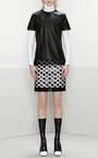 Point D'Esprit Appliquéd Pencil Skirt by Prabal Gurung Now Available on Moda Operandi