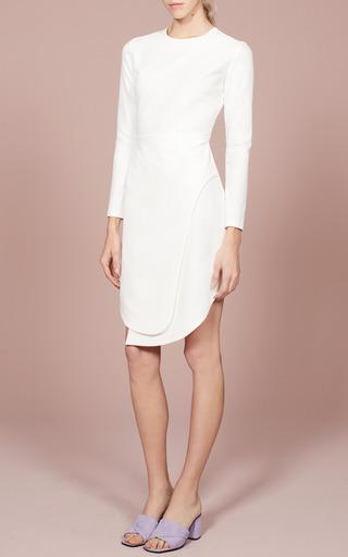 Manera Angled-Hem Crepe Dress by Opening Ceremony Now Available on Moda Operandi