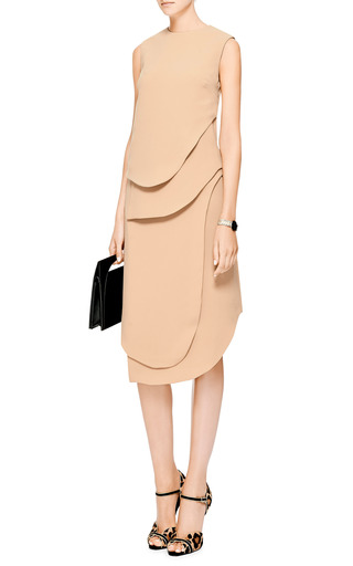 Theroux Angled-Hem Crepe Skirt by Opening Ceremony Now Available on Moda Operandi