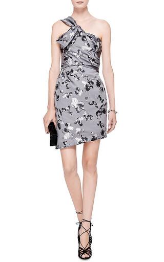 Floral-Brocade Satin Dress by Thakoon Now Available on Moda Operandi