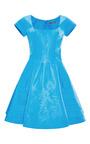 Silk-Faille A-Line Dress by Zac Posen Now Available on Moda Operandi