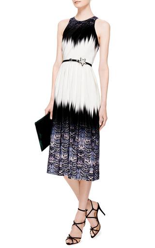 Trompe L'Oeil Crossback Dress by Tibi Now Available on Moda Operandi