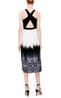 Trompe L'Oeil Crossback Dress by Tibi Now Available on Moda Operandi