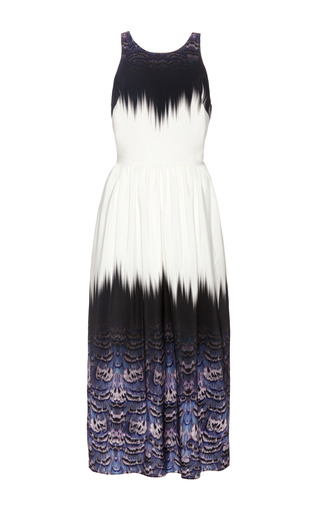 Tibi - Trompe L'Oeil Crossback Dress