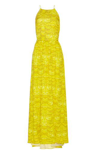 Corset-Back Maxi Dress by Tibi Now Available on Moda Operandi