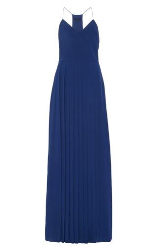 Tibi - Pleated Silk Maxi Dress
