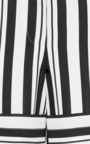Woven Striped Cropped Pants by Tibi Now Available on Moda Operandi