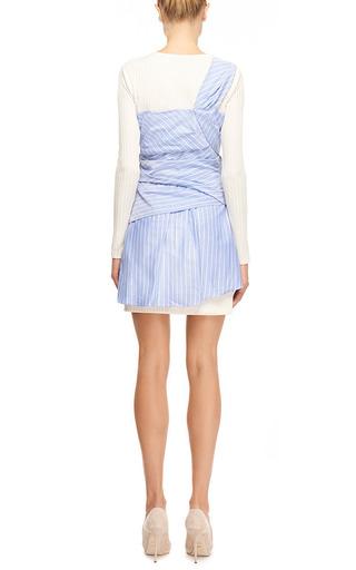 Wrap-Effect Mini Dress by Thakoon Now Available on Moda Operandi