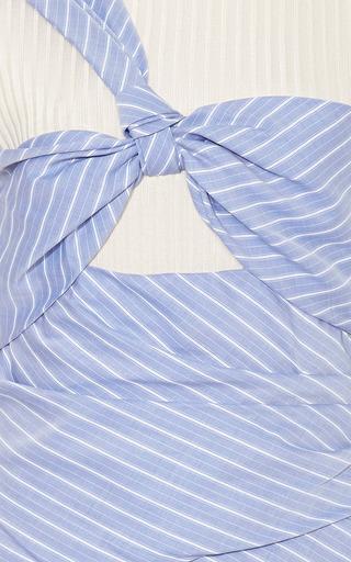 Wrap Effect Mini Dress by THAKOON Now Available on Moda Operandi
