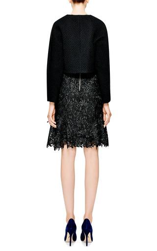 Giupure Lace Skirt by Nina Ricci Now Available on Moda Operandi